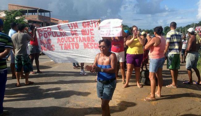 Moradores reclamam de obra de calçamento inacabada - Foto: Eduardo Barros | Cidadão Repórter