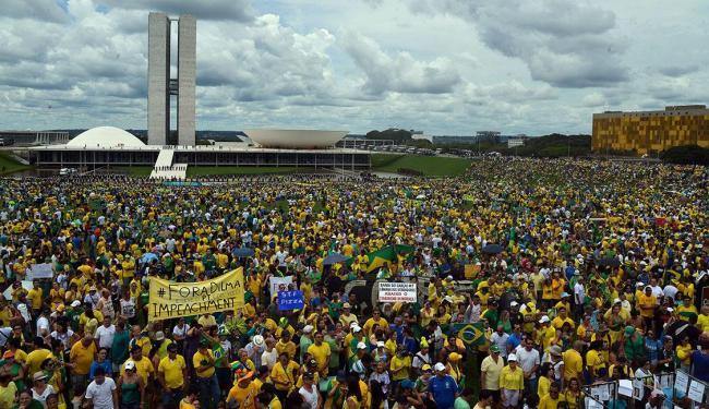 Em Brasília, 45 mil pessoas se reuniram na Esplanada dos Ministérios - Foto: José Cruz | Agência Brasil