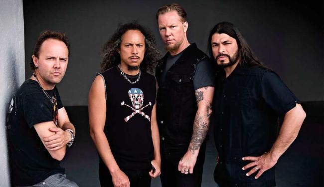 Metallica é uma das atrações já confirmadas - Foto: Reprodução