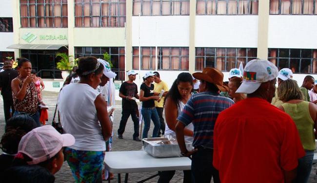 MLT ocupa pátio do Incra - Foto: Edilson Lima | Ag. A TARDE