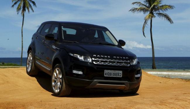Com visual atual, o Evoque tem versões com motor a gasolina ou a diesel - Foto: Eduardo Martins / Ag. A TARDE