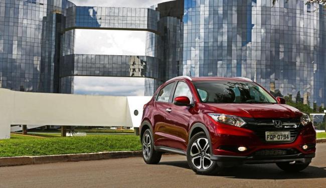O utilitário tem como rivais diretos o EcoSport, o Duster e os futuros Renegade e 2008 - Foto: Divulgação Honda