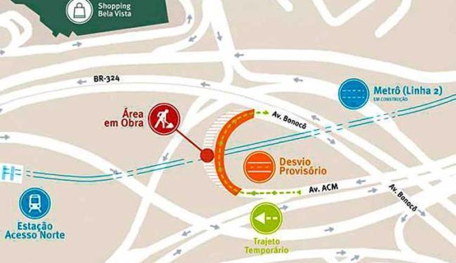 Mudança vai durar 60 dias - Foto: Divulgação | CCR Metrô
