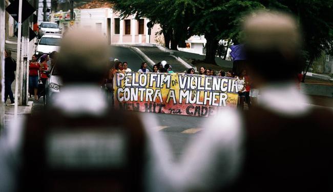 Integrantes da Marcha Mundial das Mulheres foram à cidade em setembro de 2013 - Foto: Luiz Tito | Ag. A TARDE | 18.09.2013