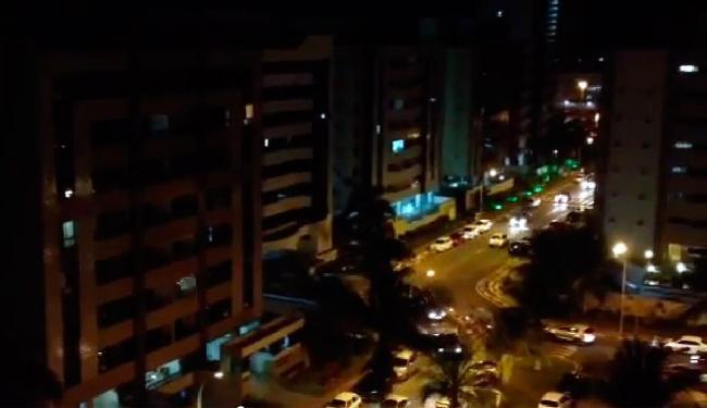 Panelaços foram registrados em diferentes bairros da capital baiana - Foto: Reprodução   Youtube