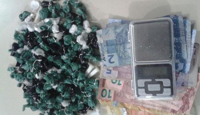 Polícia prende traficante com embalagens de cocaína - Foto: Divulgação | Polícia Civil
