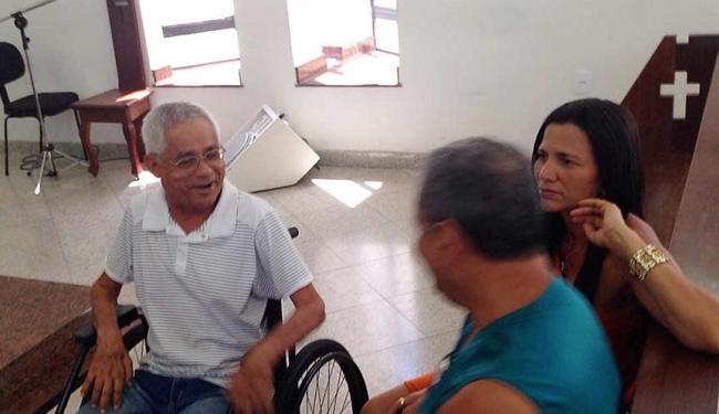 Também portador de ELA, o taxista Antônio sofre devido à falta do medicamento - Foto: Arquivo pessoal