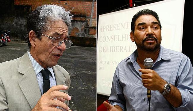 Raimundo Viana e Ivã de Almeida, candidatos à presidência do Vitória - Foto: Diego Mascarenhas e Fernando Amorim | Ag. A TARDE