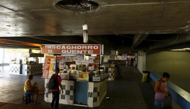 Boxes darão lugar à reforma das instalações precárias da Lapa - Foto: Eduardo Martins  Ag. A TARDE
