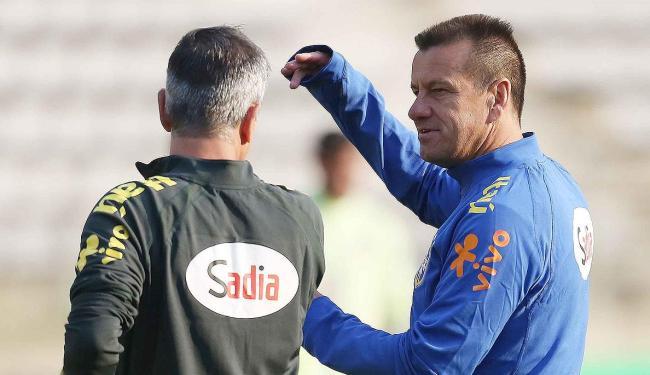 Técnico da Seleção não quis confirmar a escalação do time - Foto: Rafael Ribeiro l CBF
