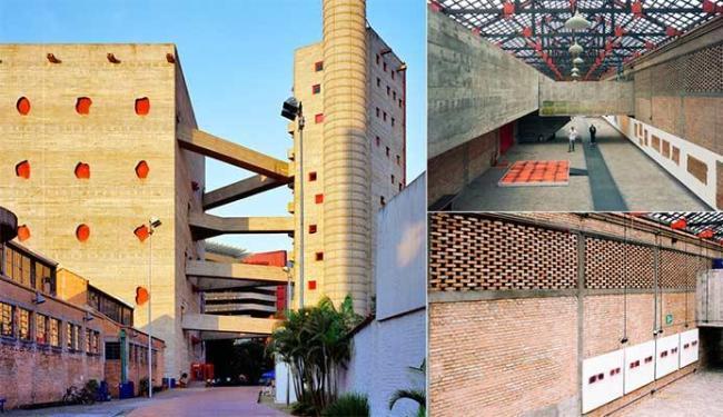 Sesc Pompéia é um dos prédios mais famosos do País - Foto: Pedro Kok | Divulgação
