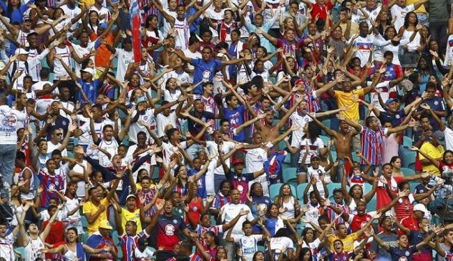 Líder do Grupo E, o Bahia pega o Globo-RN que é o terceiro colocado - Foto: Eduardo Martins | Ag. A TARDE