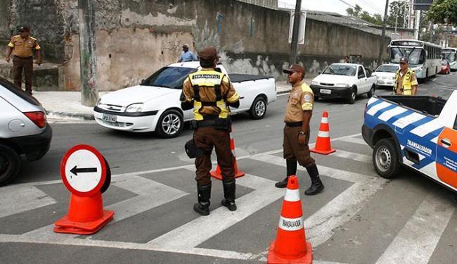 Comemorações do aniversário de Salvador alteram trânsito na cidade - Foto: Luciano da Matta | Ag. A TARDE