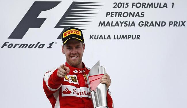 Vettel vence pela 40ª vez - Foto: Olivia Harris Livepic | Ag. Reuters