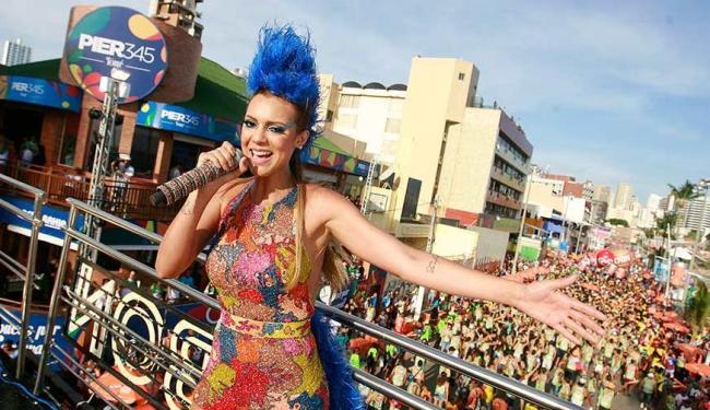 Vina fez sua estreia no Carnaval de Salvador a frente da Cheiro de Amor - Foto: Joá Souza | Ag. A TARDE
