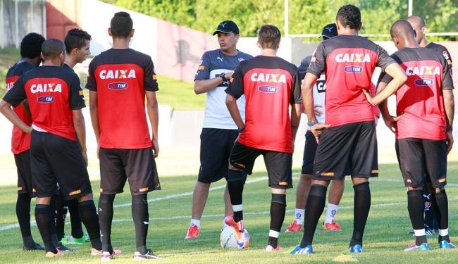 Titulares tiveram dois dias de treino como o novo técnico do Vitória - Foto: Margarida Neide   Ag. A TARDE