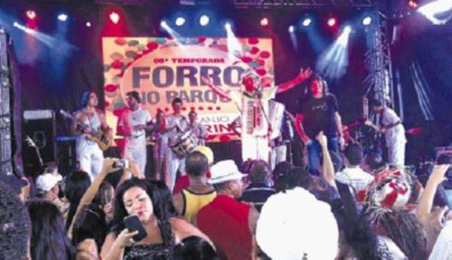 Forrozeiro recebeu convidados especiais na sexta edição do Forró no Parque - Foto: Jéssica Nascimento | Ag. A TARDE