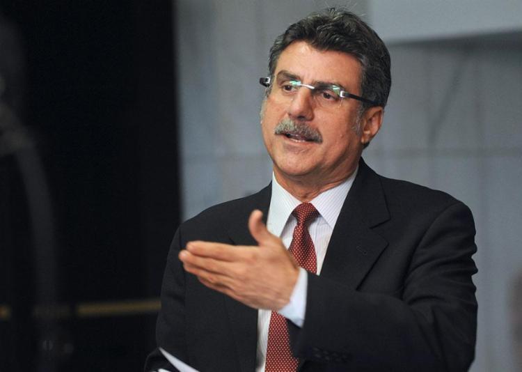 """Ninguém vai me intimidar"", disse o senador Romero Jucá - Foto: Antonio Cruz   ABr"