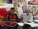 Vitória renova contrato de Ramon até 2019 - Foto: E.C. Vitória | Divulgação