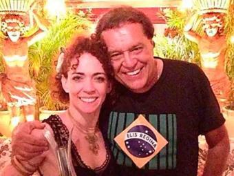 Laila ganhou o coração de Dennis nos bastidores do espetáculo 'Elis, a Musical' - Foto: Reprodução | Instagram