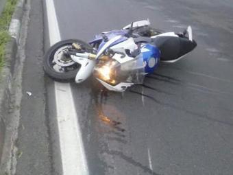 Marcel morreu no local do acidente - Foto: Reprodução  Site Acorda Cidade