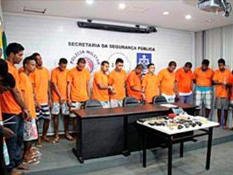 Presos foram apresentados na manhã desta segunda-feira, 13 - Foto: Divulgação | Polícia Civil