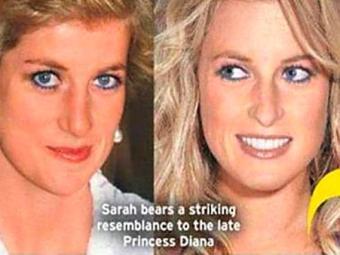 Foto de princesa Diana e Sarah divulgada pela imprensa internacional - Foto: Reprodução