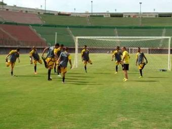 Ypiranga treina forte para enfrentar o Flamengo de Guanambi na abertura do Estadual - Foto: Divulgação | E.C. Ypiranga
