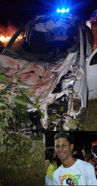No destaque, Lucas Souza, que morreu no acidente - Foto: Reprodução | Iaçu Notícias