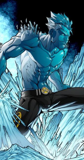 Homem de Gelo na fase adulta no HQ X-Men - Foto: | Divulgação