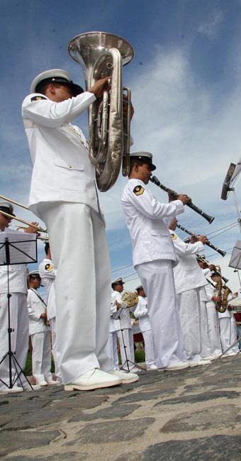 Vagas são para o Corpo de Fuzileiros Navais - Foto: Joá Souza | Ag. A TARDE