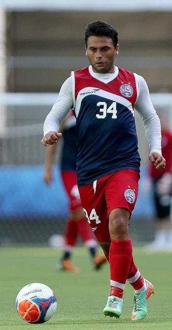 Maxi é o vice-artilheiro do Tricolor na temporada, com sete gols - Foto: Felipe Oliveira l E.C. Bahia