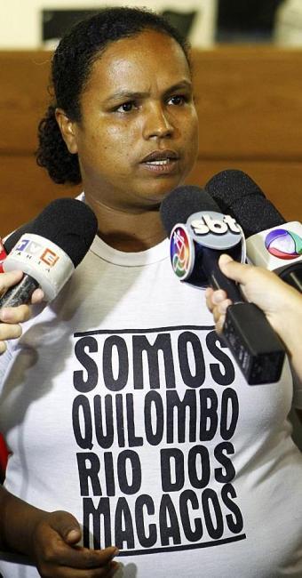 Rosemeire Messias diz que ato pretende intimidá-los - Foto: Eduardo Martins   Ag. A TARDE   11.03.2014