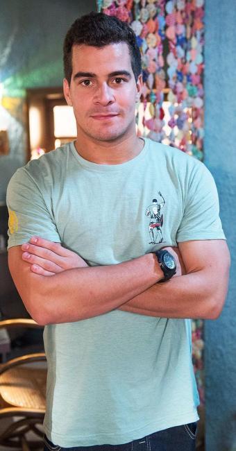Thiago Martins está no ar em Babilônia, novela das 21 horas da Globo - Foto: Alex Carvalho   TV Globo