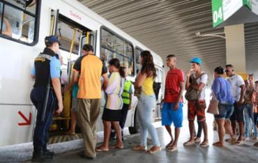 Estação Pirajá funciona parcialmente devido à obra do metrô - Foto: Joá Souza | Ag. A TARDE