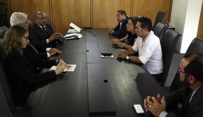 Representantes da Abames se reuniram com diretores do Grupo A TARDE - Foto: Fernando Amorim | Ag. A TARDE