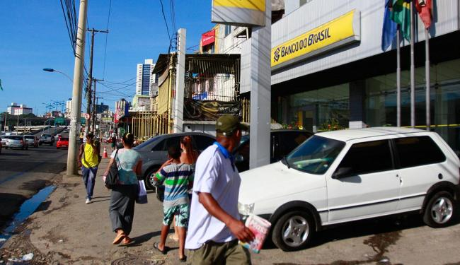 Ação aconteceu dentro da agência do BB - Foto: Edilson Lima | Ag. A TARDE