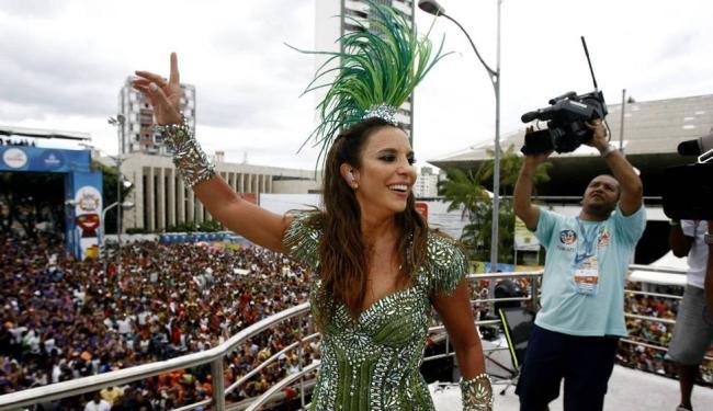 Ivete Sangalo volta a cantar em Feira após dois anos de ausência - Foto: Raul Spinassé | Ag. A TARDE