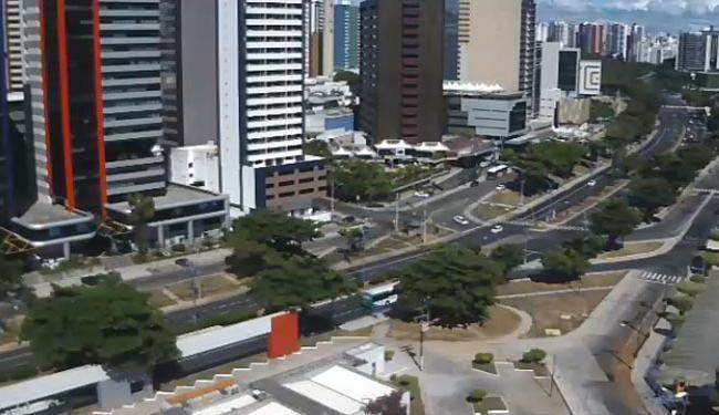 Av. ACM tem trânsito tranquilo nesta sexta - Foto: Reprodução | Vídeo | Vejo ao Vivo