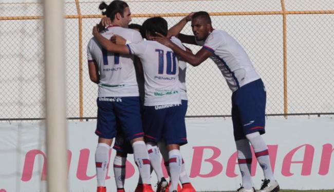 O triunfo dá vantagem ao Tricolor para o jogo de volta - Foto: Lucio Tavora | Ag. A TARDE