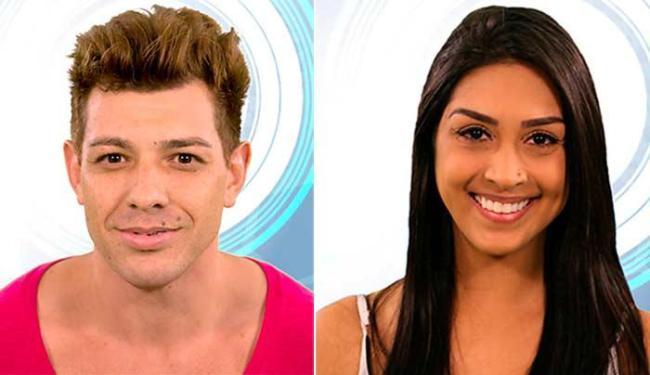 Cézar e Amanda disputam o prêmio de R$ 1,5 milhão - Foto: Reprodução | BBB 15