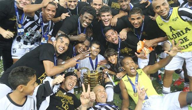 Com campanha invicta, o Ceará sagrou-se campeão pela primeira vez do Nordestão - Foto: Fabio Lima/O Povo)