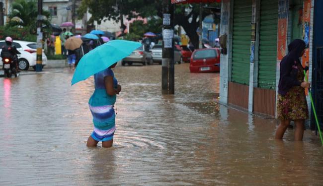 Em 24 horas, choveu 86 mm em Salvador, informa o Inmet - Foto: Joa Souza   Ag. A TARDE