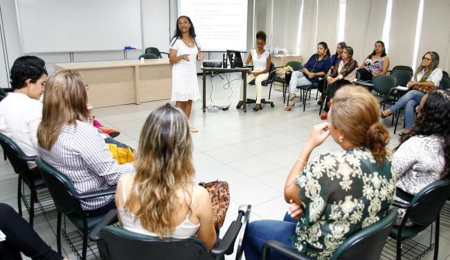Cleidiana Ramos falou sobre a coexistência entre os meios de comunicação e a importância do impresso - Foto: Luciano da Matta   Ag. A TARDE