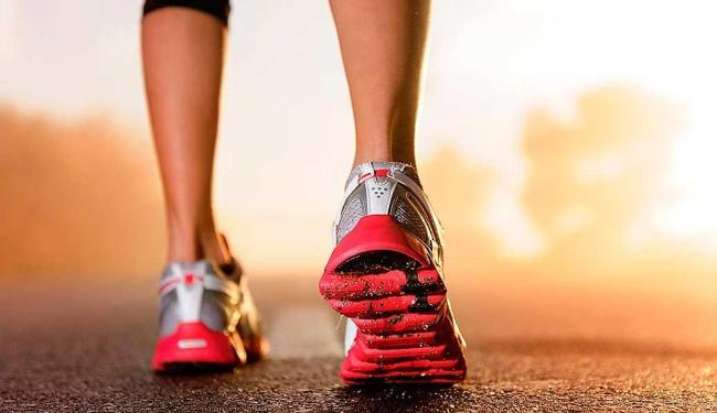 A corrida é um exercício simples, que pode ser praticado a qualquer hora e em qualquer lugar - Foto: Reprodução
