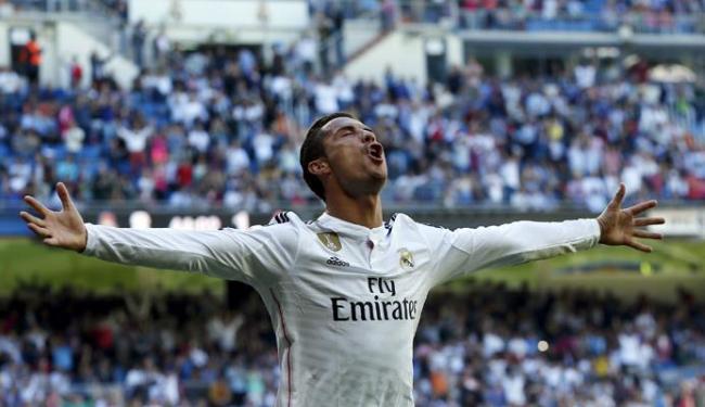Os gols fizeram Cristiano Ronaldo se isolar na artilharia do Campeonato Espanhol, com 36 gols - Foto: Juan Medina | Ag. A TARDE
