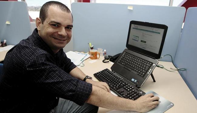 Danilo se surpreendeu quando descobriu o crédito de R$ 60,30 - Foto: Mila Cordeiro   Ag. A TARDE