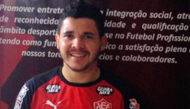 Lateral foi revelado pelo Cruzeiro - Foto: Divulgação   ECVitória