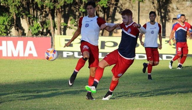 Jogadores do Bahia realizaram treino nesta sexta-feira, 3. - Foto: Divulgação   ECBahia