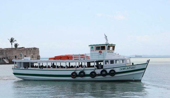 Dez embarcações operam na travessia Salvador -Mar Grande - Foto: Divulgação